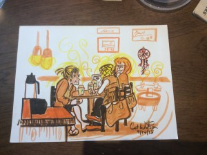 Share Ideas - Illustration by Cat Wilson