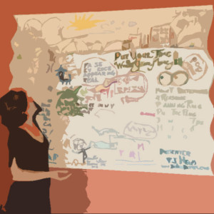 Visual Recording and Facilitating with Cat Wilson