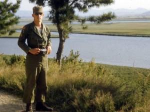 Joe Luckow in Army