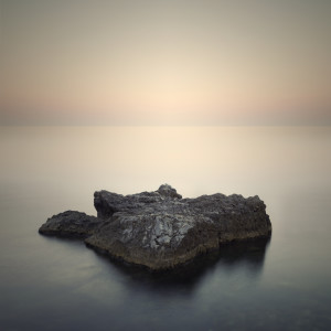 Minimalist Misty Landscape by Beerlogoff
