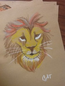 Lion Picture By Cat Wilson