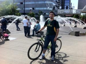 Waterfront Bike Ride by Richard Wilson
