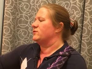 Cynthia Wilson singing praise